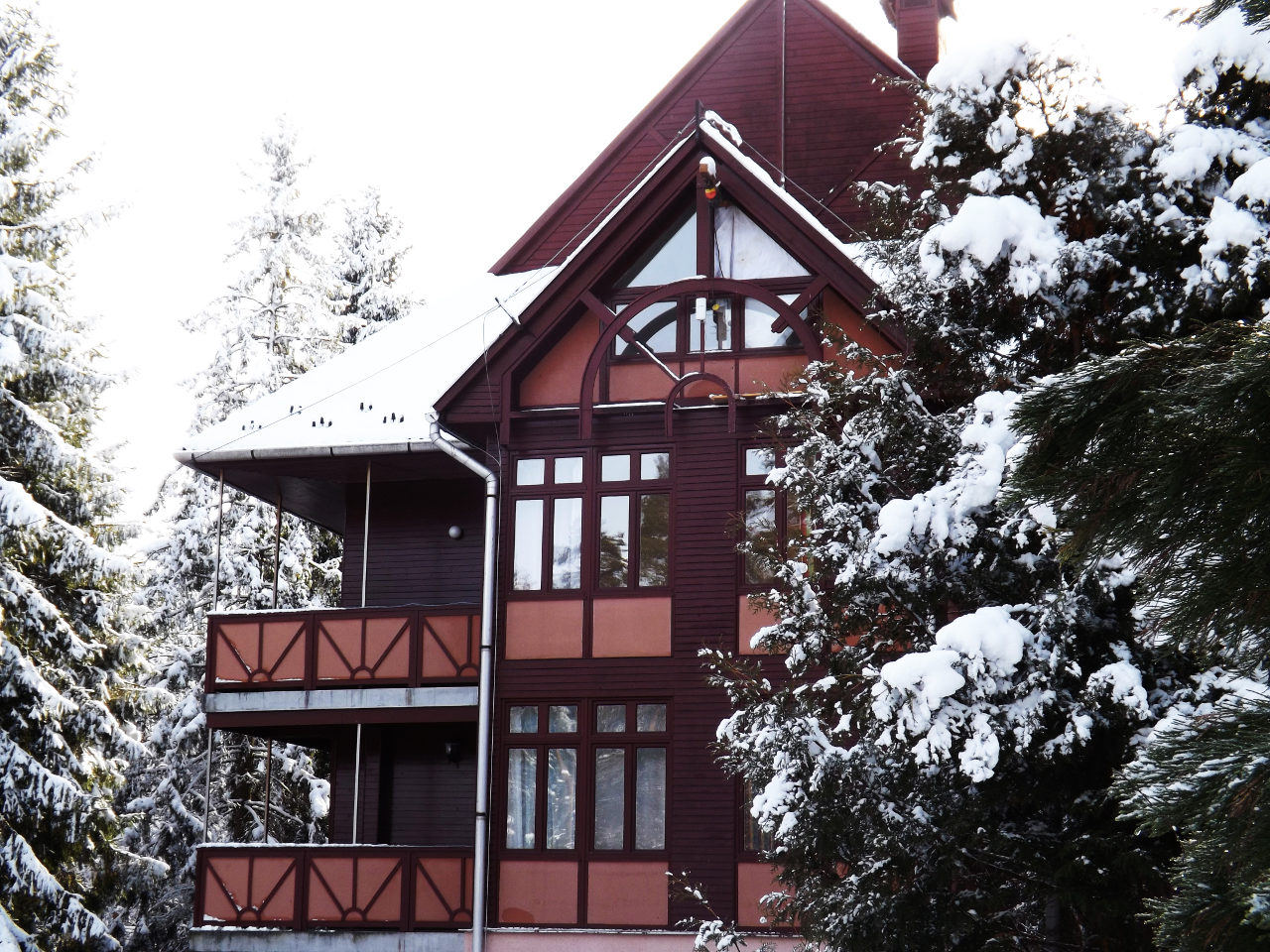 Ezüstfenyő Hotel télen